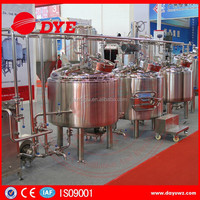 stainless steel home pub commercial mini beer brewing equipment for sale