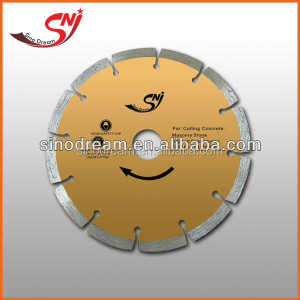 Hot press sintered super thin diamond saw baldes for cutting vitrified tiles