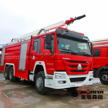 howo 6X4 water foam fire fighting tank truck 12000L brand new fire truck