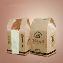 Qingdao JTD manufacturer customized kraft paper bread packaging bags with your own design