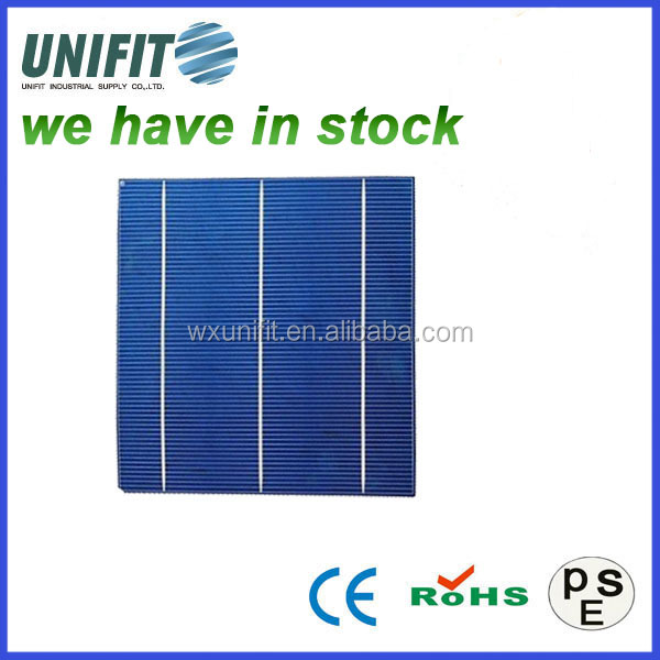 chinese solar cell best price silicon wafer for solar cell poly solar cells