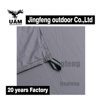 Various size ripstop nylon fabric tent floor