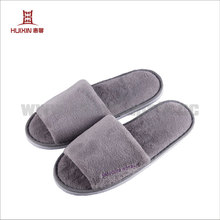 JET-SL-138 Winter warm unisex open toe slippers for hotels