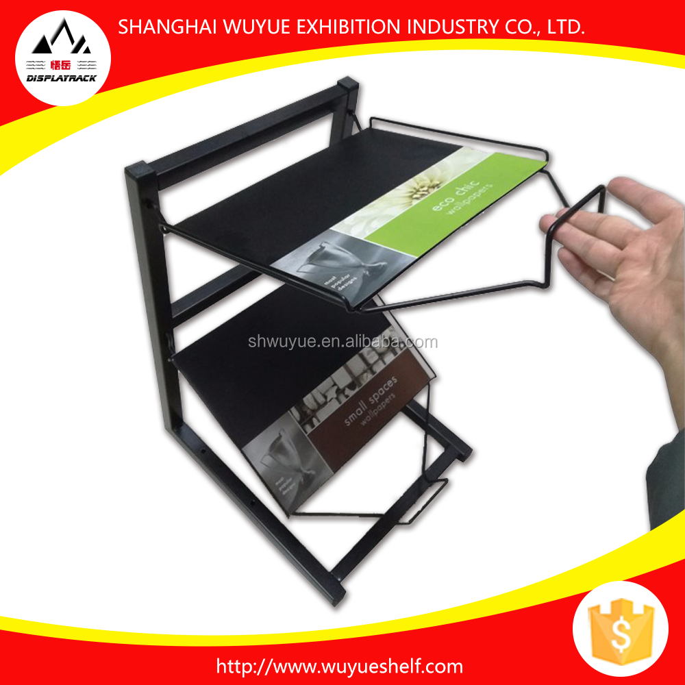 2017 New Factory Directly Sell Portable Mini Magazine Display Rack