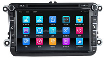 HLA car dvd player for Volkswagen Android4.4 gps navigation radio 3g wifi connection bluetooth