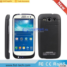 Hot selling external battery charger for Samsung Galaxy S3 i9300 3200mAh