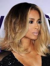 Customer Order Celebrity Hairstyle 3T Ombre Blonde Silk Base Top Glueless Full Lace Wig With Top Quality