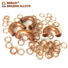 Phos copper Brazing Rings Welding ring BCuP-2 brazing filler