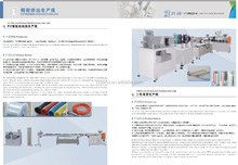 Plastic PP ball pen extruder making machine(ISO9001:2000,CE, 2016 new design)
