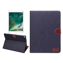 Xguo PU Cowboy Leather Case For iPad Pro/8 10.5 Fashion Table Flip Stand Cover