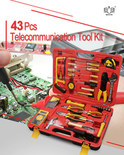 Bestir 92105 43Pcs Telecommunication Tool Kit Electrical Contractor, Appliance Repair