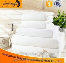 thin cotton bath towel/white towel used for hotel, spa, beach, pool