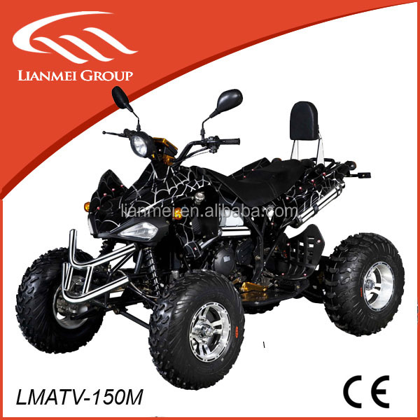 cool sports 150cc gy6 air cooled cvt gear atv with CE for hot sale in world market