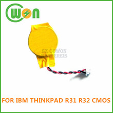 CMOS battery CR2032 with wire and connector cmos battery for IBM R31 R32