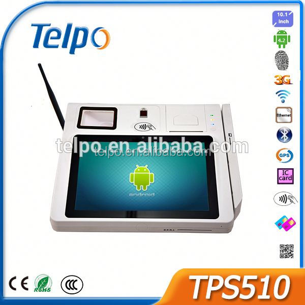 2016 New Product good quality big screen system TPS510 windows ce handheld pda with smart card reader