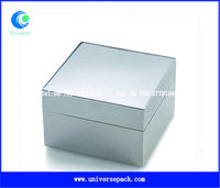 wholesale fashion promotion silver plated jewelry box