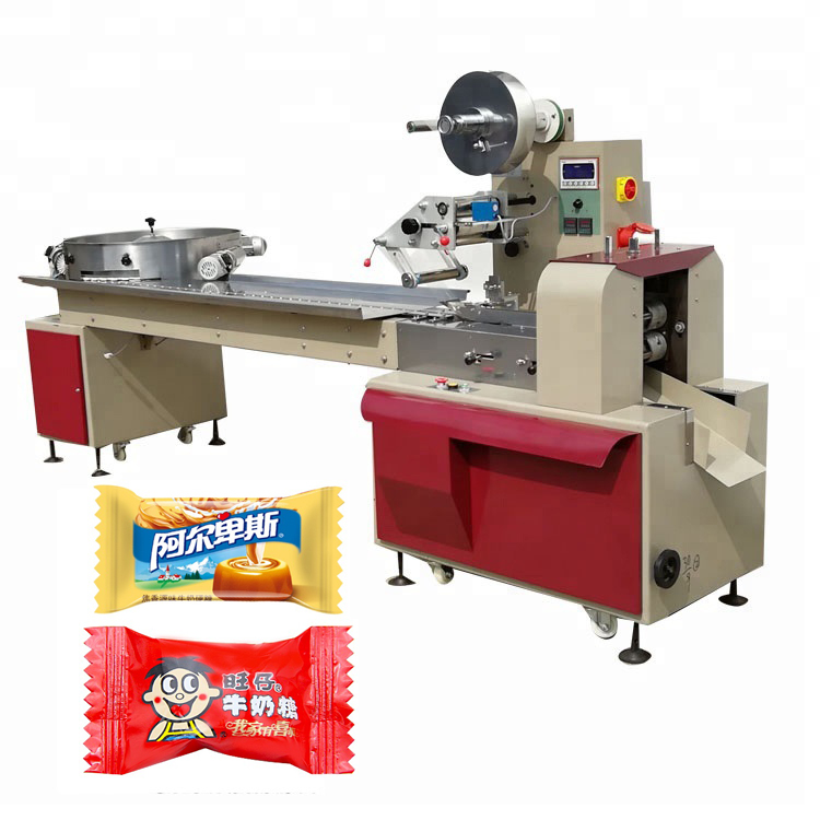 YB-800 Automatic hard candy packing <strong>machine</strong>, candy flowpack packing <strong>machine</strong> in Shanghai