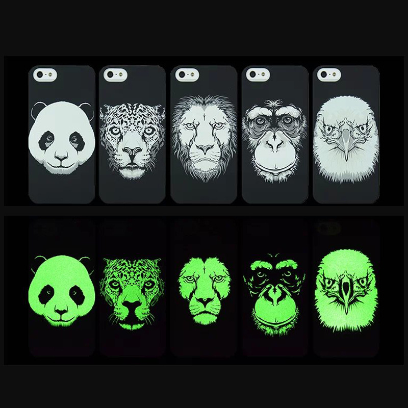 Western Cell Phone Cover Cases for iphone 6,Hot Selling Glow in the Dark Phone Cases