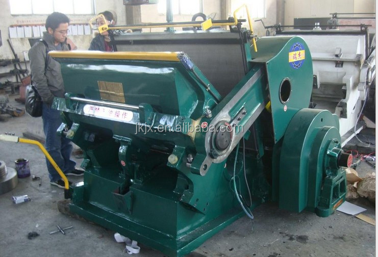 Industrial Die Cutting Machines/Carton Die Cut Machine/Manual Paper Die Cutting and Creasing Machine