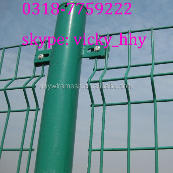Various type of anping welded pvc coated wire mesh fence