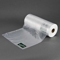 Top selling products HDPE plastic film grocery bags on roll