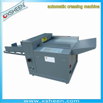11 creasing and perforating machine gpm320, paper creasing and perforating machines