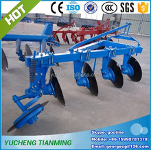 Agricultural machinery tractor 3 PL furrow disc plough from Tianming machinery