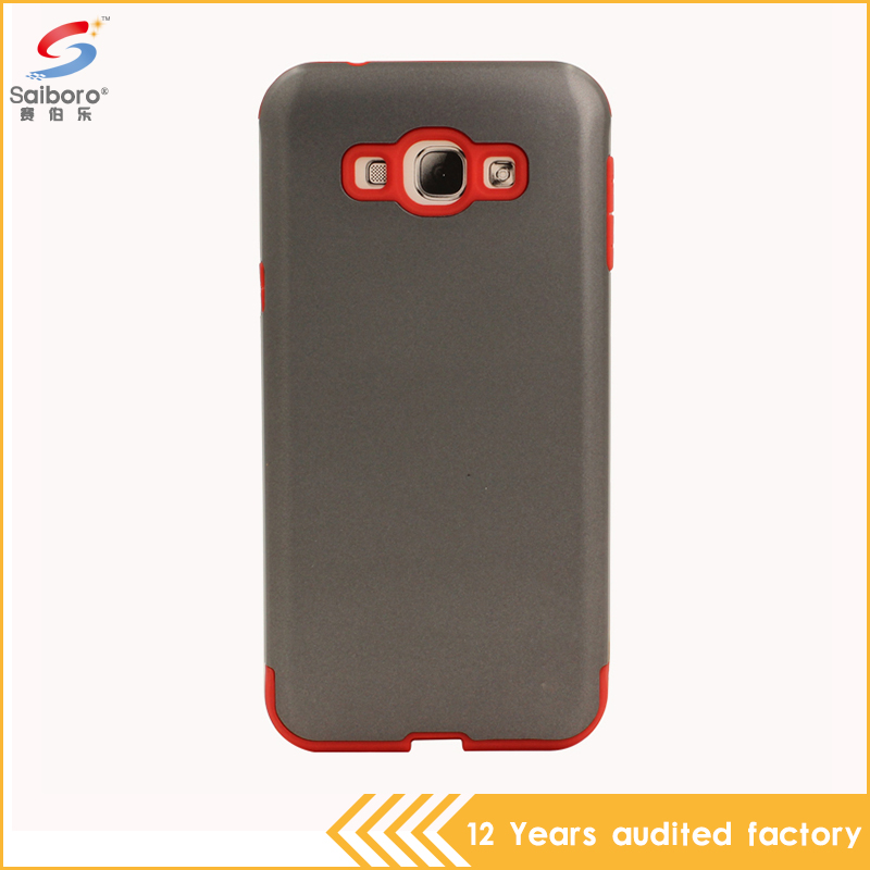 Hybrid 2 in 1 slim mars cell phone cover for Samsung A8