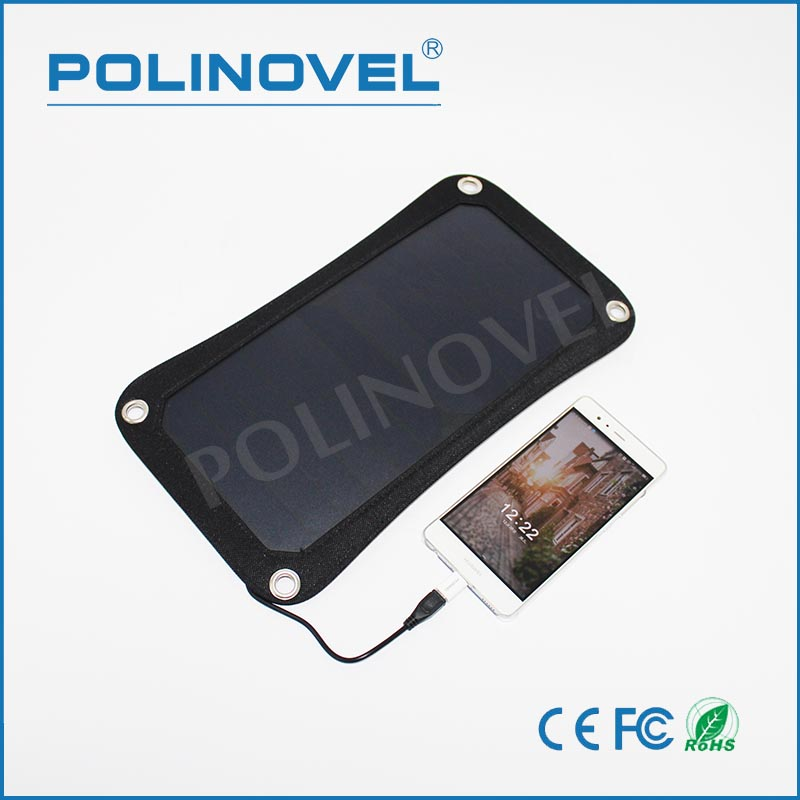 6.5w portable solar charger solar cell phone charger