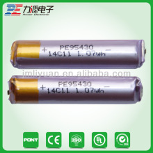 3.7V 700mAh rechargeable laptop lithium ion Battery
