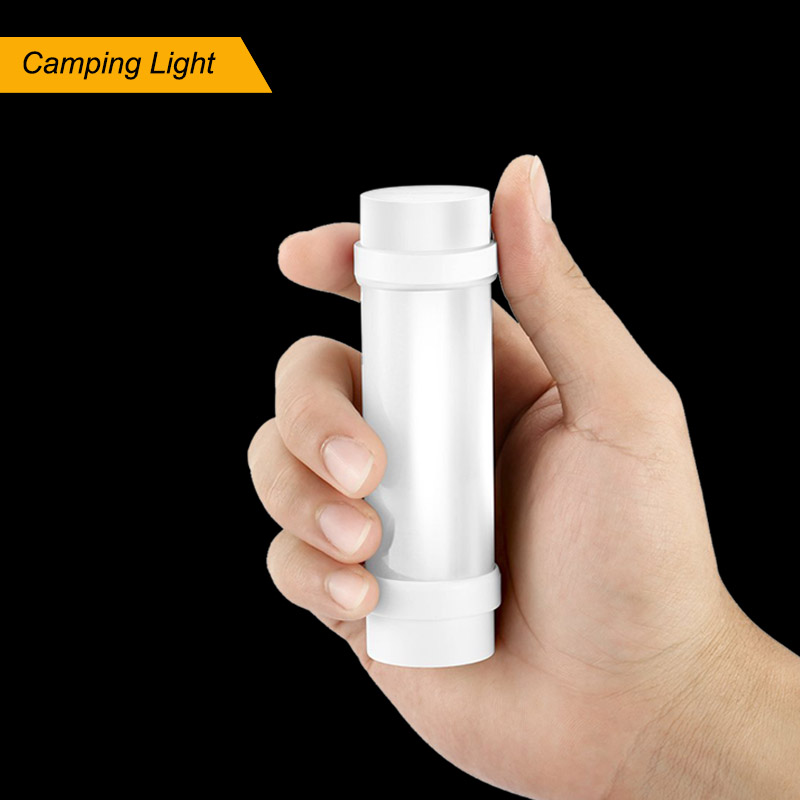 Mini Torch JH-Y-B3S Portable LED Camping Light and Rechargeable Emergency Flashlight