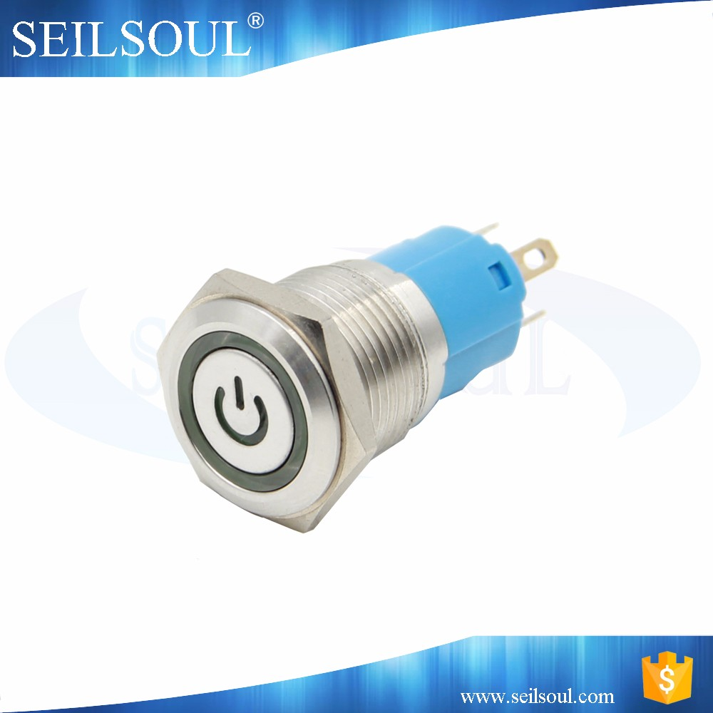 Export high quality on off push button,vandal-proof switch,power push button switch