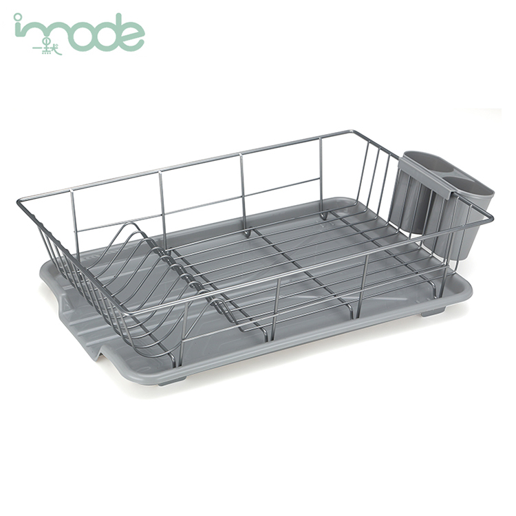 Eco-friendly new style quality-assured stainless steel drainer dish rack