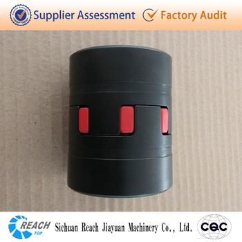 flexible spider rubber shaft coupling