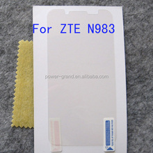 High clear Anti-scratch Screen guard for ZTE N983
