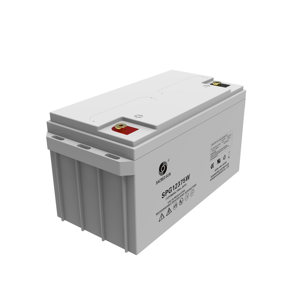 12V 86ah battery uses latest AGM technology ,SPG12-375W