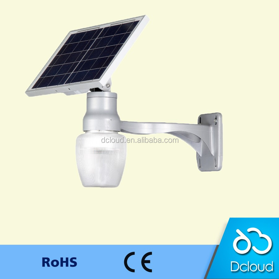 Excellent quality 6w all in one solar garden lighting pole light