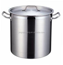 restaurant stainless steel large 6L stock pot cooking pot stew pot