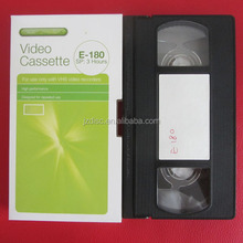 blank video cassettes tape