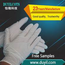 Cheap Disposable Nitrile white Color Gloves skin color gloves