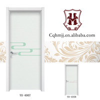 Chinese wholesaler composite wooden single main door design