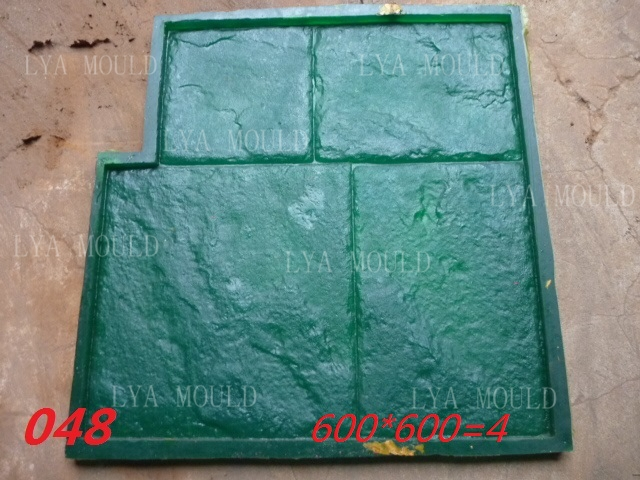 Stamped Rubber Flooring : Decorative concrete stamp mold buy stamped rubber