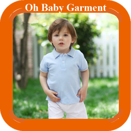 Cute Baby Boy Polo Shirt 100% Cotton Top Quality Baby Polo Shirt Wholesale Custom Polo Shirt For Babys