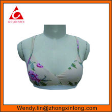 2017 New Style Bra Elastic with printing