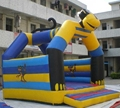HOLA new animal inflatable castle bed/jumping castles with prices