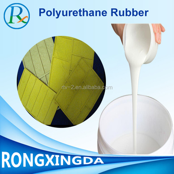 Two component liquid polyurethane rubber for plaste mold make