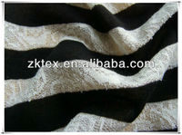 100%polyester stripe yarn dyed jersey knitted fabric