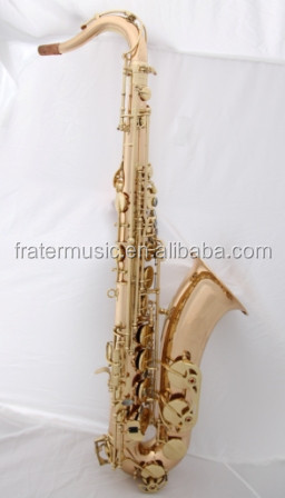 High Grade Tenor Saxophone with Red copper body (JTS-610)