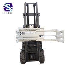 Forklift attachment diesel hydraulic bale clamp
