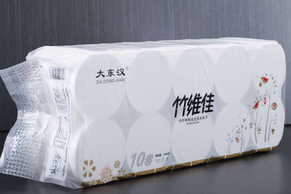 2016 Coreless bathroom paper OEM Sichuan factory bath tissue paper